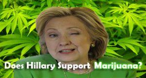 Clinton Gave Thumbs Down to Legal Marijuana, Leak Shows