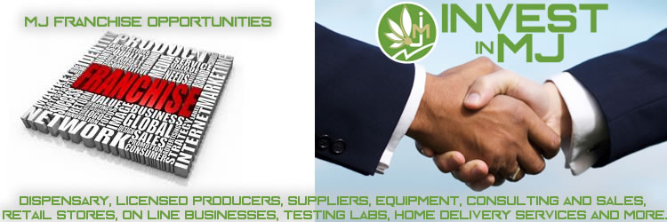 Marijuana or cannabis franchise opportunities